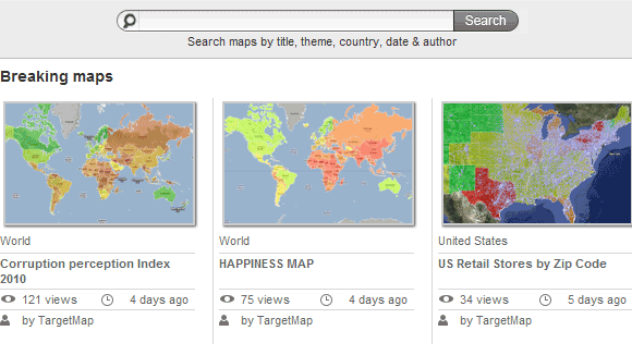 free customized maps