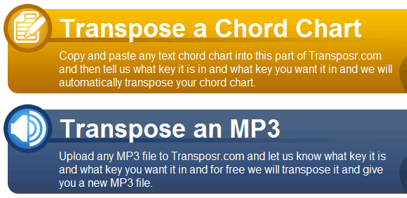 transpose audio files