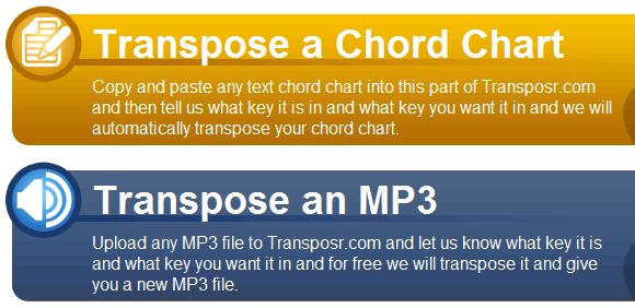 transpose audio files
