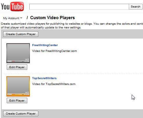 How To Add YouTube Videos To Your Website With YouTube Custom Player youtube9