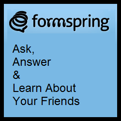 Formspring – Hold Conversational Q&A With The People You Care About