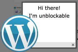 3 Plugins To Add An Unblockable Popup To Your WordPress Blog