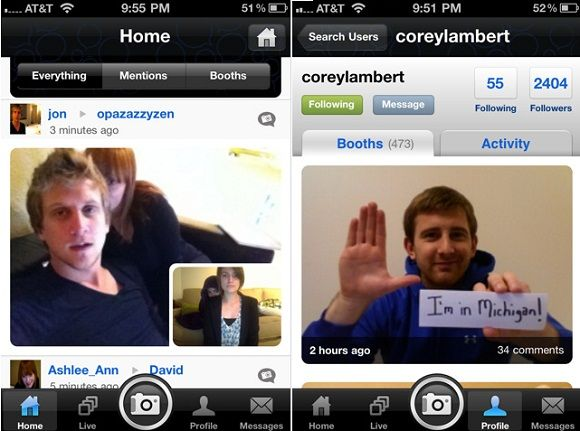 DailyBooth Launches New iPhone App [News] 2010 12 20 1903