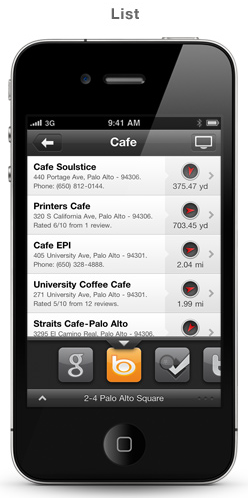 Discover Places With Socially-Driven Localscope for iPhone [Giveaway] 2010 12 30 1100