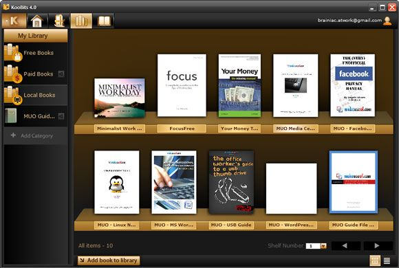 manage ebook collection