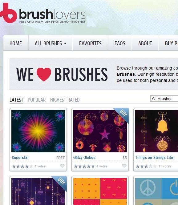 high quality photoshop brushes download