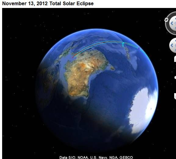 lunar eclipse simulation