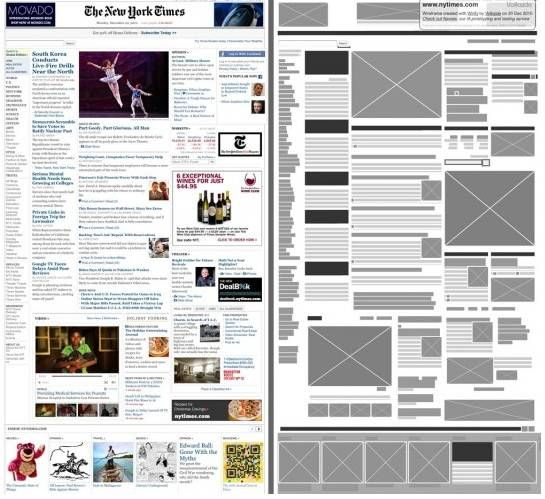 view wireframe