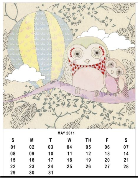 20 Free Printable Calendars Planners For 2011