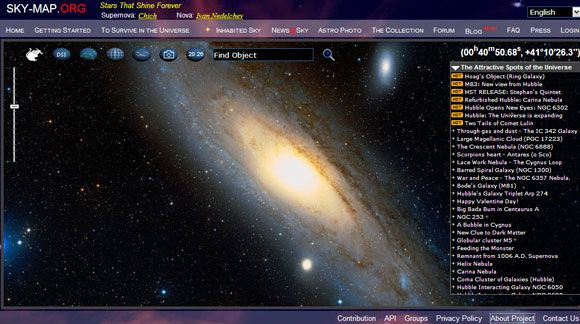 astronomy websites