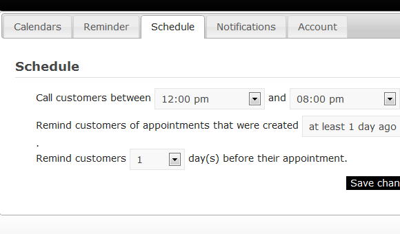 automated scheduling assistant