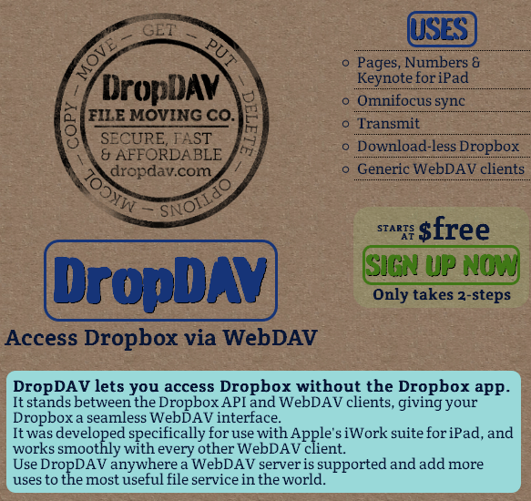 access your dropbox
