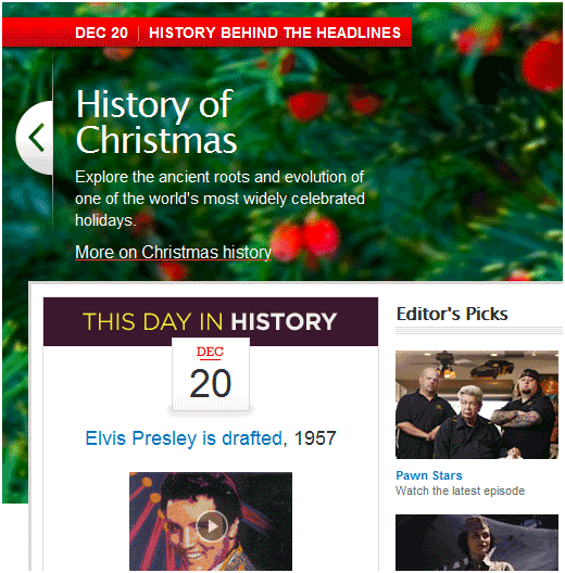 educational website for history