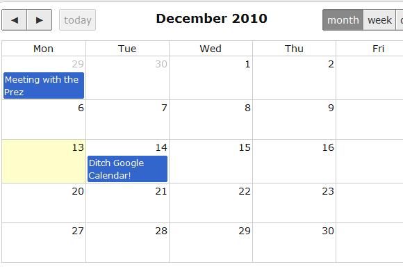 timesheet and calendar