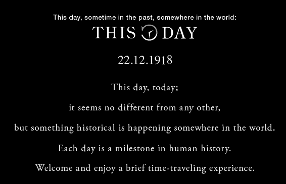 historical events that happened on today's date