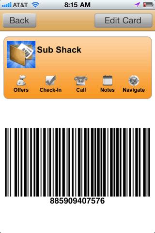 reward card wallet