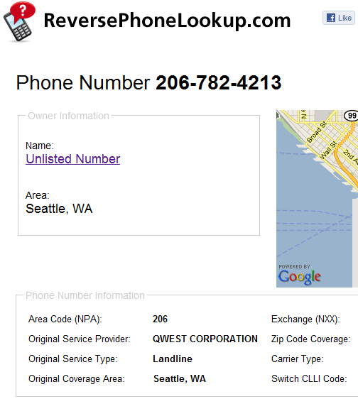find out who owns a phone number