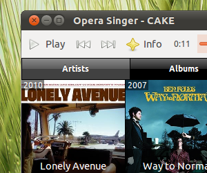 linux music player
