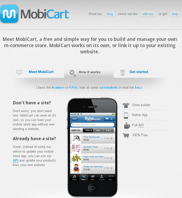 mobile store app