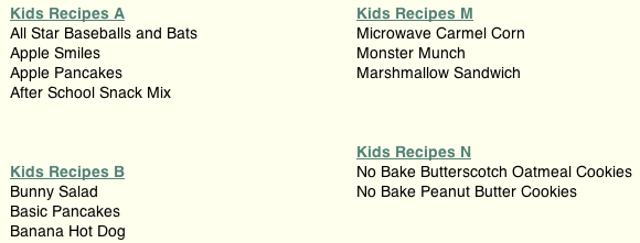 kid friendly favorite recipes