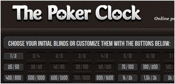 poker clock online