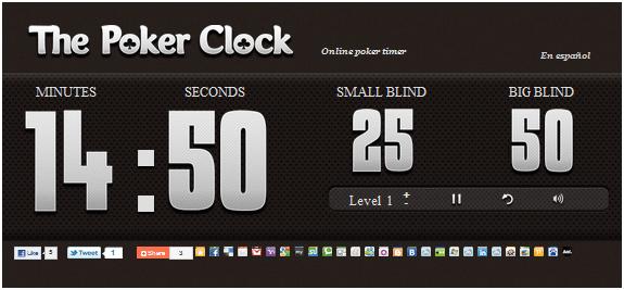 online poker clock