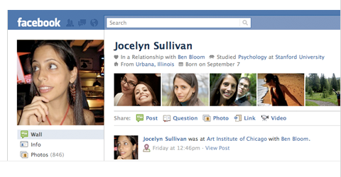 Facebook Launches New Profile Pages [News] profile