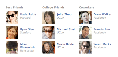Facebook Launches New Profile Pages [News] relationships