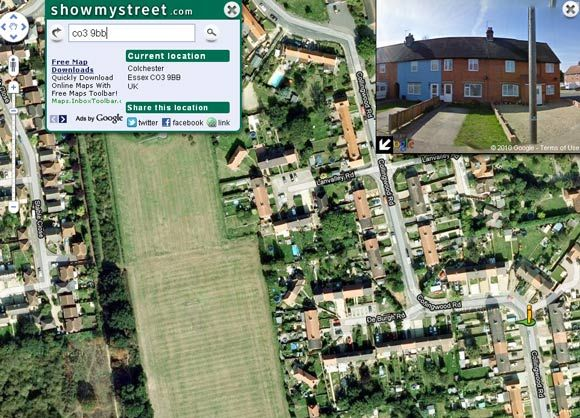 showmystreet1   ShowMyStreet: Map Any Address Along With A Street View & Share Online