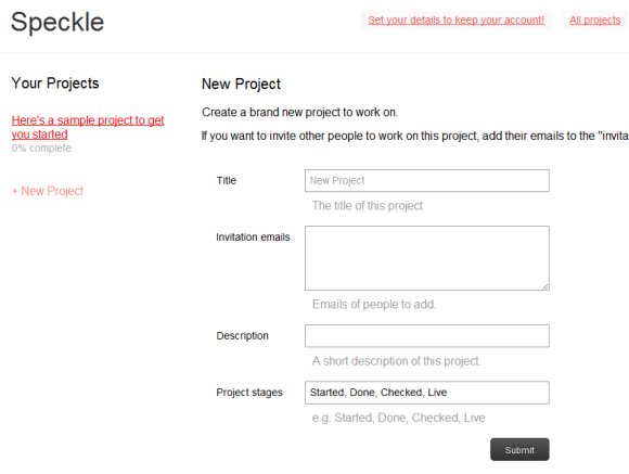 web-based task management tool