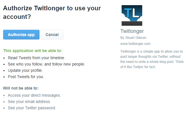 6 Tools That Allow You To Write Longer Twitter Tweets twitlonger 1