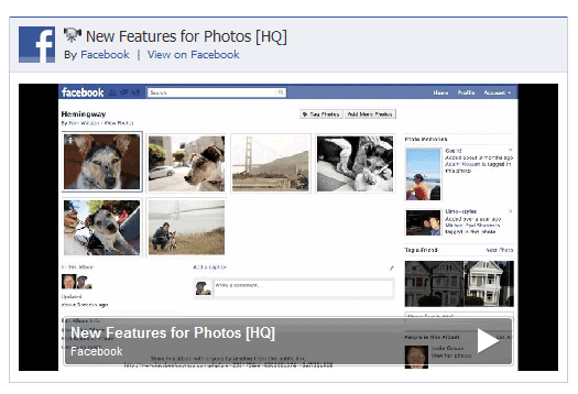 embed facebook pages