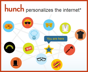 Hunch Gives You Personalized Recommendations Based on Your Interests