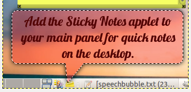 How To Create Speech Bubbles For Screenshots In GIMP 04