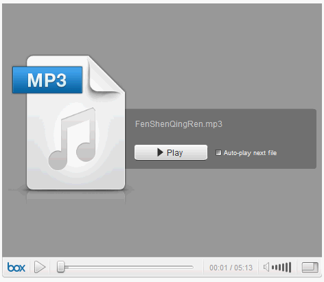 how embed mp3 website