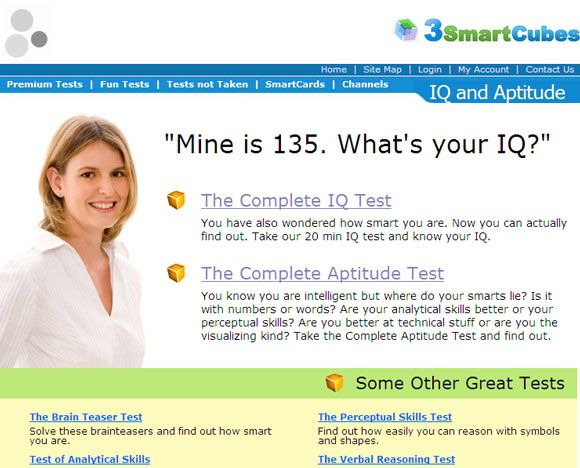 10 Websites With Fun Tests To Gauge Your IQ IQ Test02