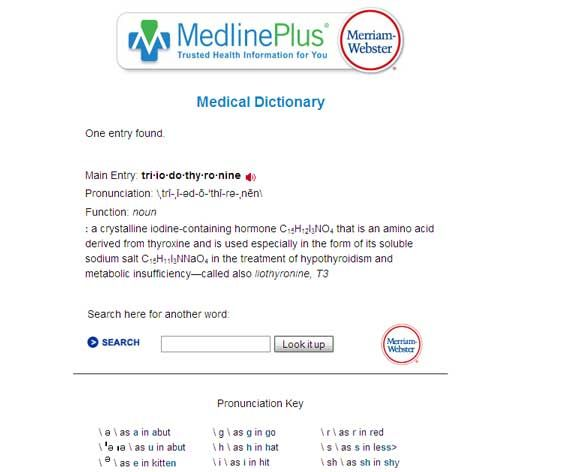 7 Free Online Medical Dictionaries for Some Word Aid