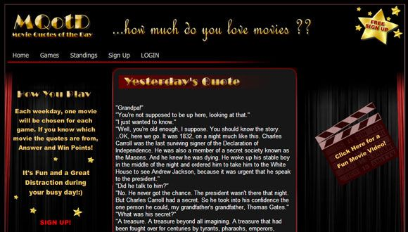 10 Websites For Famous Movie Quotes Movie quotes08