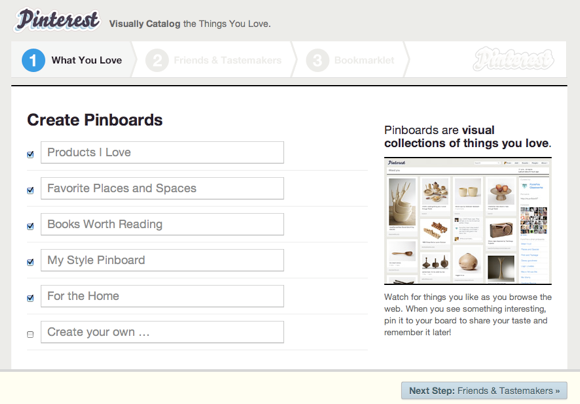 Create Virtual Pinboards Of Your Favourite Images With Pinterest [100 Invites] Pinterest1