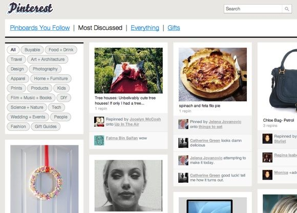 Create Virtual Pinboards Of Your Favourite Images With Pinterest [100 Invites] Pinterest7