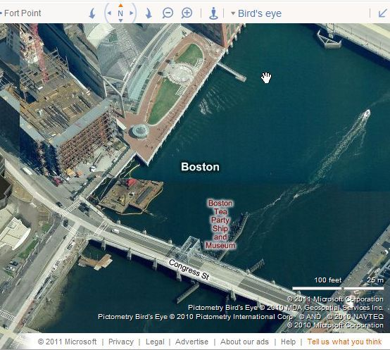 bing aerial maps tips