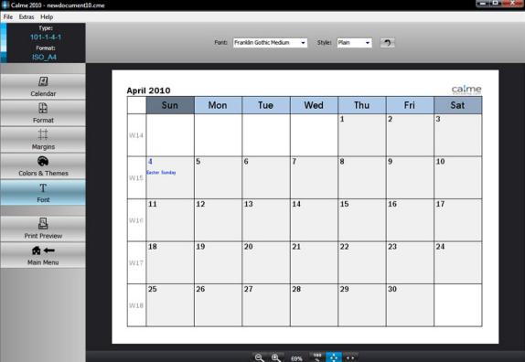 beautiful calendars