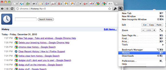 How to Delete Recent Searches Without Accidentally Leaving a Trace chrome edit individual history items