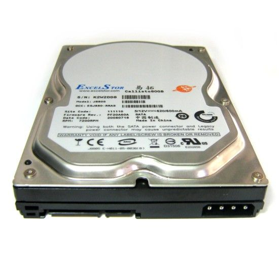 How to Physically Install a Second Internal Hard Drive excelstor hard disk drive