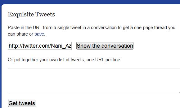 tweet thread