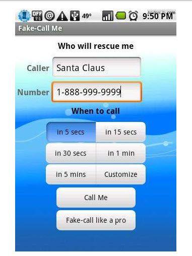 make fake phone calls