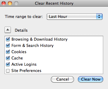 How to Delete Recent Searches Without Accidentally Leaving a Trace firefox clear history