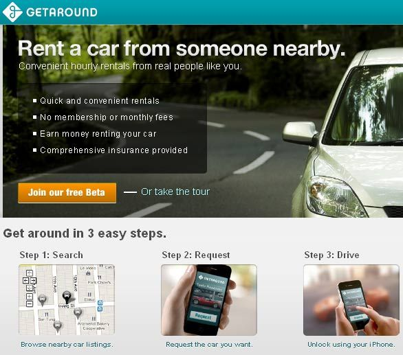 renting out your car