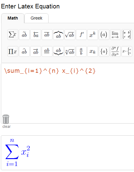 how to change font size in latex equation