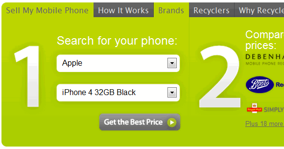 recycle your old phones